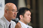 Hiroya Otsuki (JPN), <br /> AUGUST 2, 2016 : <br /> Japan National team attend a press conference <br /> for Rio Paralympic Games <br /> in Tokyo, Japan. <br /> (Photo by AFLO SPORT)