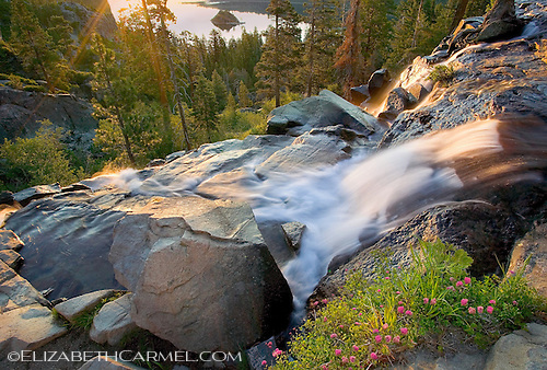 Sunrise on Eagle Falls