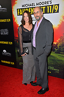 LOS ANGELES, CA. September 19, 2018: Richard Schiff &amp; Sheila Kelley at the Los Angeles premiere for Michael Moore's &quot;Fahrenheit 11/9&quot; at the Samuel Goldwyn Theatre.<br /> Picture: Paul Smith/Featureflash