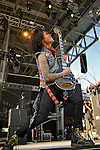 Stevie D. of Buckcherry performs during the 2013 Rock On The Range festival at Columbus Crew Stadium in Columbus, Ohio.
