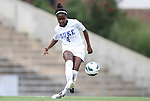 24 August 2012: Duke's Natasha Anasi. The Duke University Blue Devils defeated the University of Montreal Caribins 4-1 at Fetzer Field in Chapel Hill, North Carolina in an international women's collegiate friendly game.