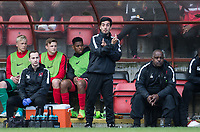 Leyton Orient Coach Frederico Morias during the Sky Bet League 2 match between Leyton Orient and Wycombe Wanderers at the Matchroom Stadium, London, England on 1 April 2017. Photo by Andy Rowland.