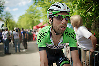 Laurens Ten Dam (NLD/Belkin) post-race<br /> <br /> La Flèche Wallonne 2014