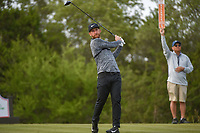 Kevin Chappell (USA) watches his tee shot on 15 during Round 1 of the Valero Texas Open, AT&amp;T Oaks Course, TPC San Antonio, San Antonio, Texas, USA. 4/19/2018.<br /> Picture: Golffile | Ken Murray<br /> <br /> <br /> All photo usage must carry mandatory copyright credit (&copy; Golffile | Ken Murray)