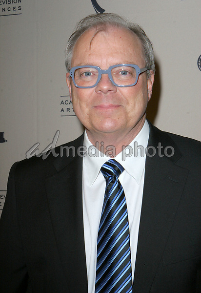 John Shaffner  arrives  at the The Academy of Television Arts Sciences Hall Fame Ceremony