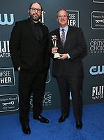 12 January 2020 - Santa Monica, California - Josh Cooley, Mark Nielsen. 25th Annual Critici's Choice Awards - Press Room held at Barker Hangar. Photo Credit: Birdie Thompson/AdMedia