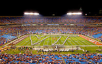 2011 ACC Championship Game  - Virginia Tech vs. Clemson at Bank of America Stadium in Charlotte, North Carolina...Photo by: Patrick SchneiderPhoto.com