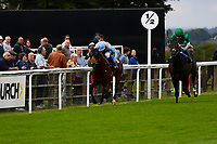 Winner of The M J Church British EBF Novice Stakes (Plus 10) (Div 1), Move over ridden by Sean Levey and trained by Richard Hannon during Afternoon Racing at Salisbury Racecourse on 7th August 2017