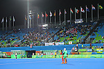 General view<br /> AUGUST 11, 2016 - Hockey : <br /> Women's Pool Match <br /> between Japan Women's 0-2 Great Britain Women's <br /> at Olympic Hockey Centre <br /> during the Rio 2016 Olympic Games in Rio de Janeiro, Brazil. <br /> (Photo by YUTAKA/AFLO SPORT)
