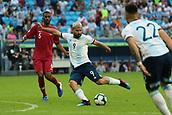 2019 Copa America International Football Qatar v Argentina Jun 23rd