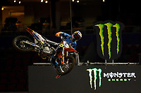 FMX / Robbie Maddison<br /> Monster Energy Aus-XOpen<br /> Supercross &amp; FMX International<br /> Qudos Bank Arena, Olympic Park NSW<br /> Sydney AUS Sunday 12  November 2017. <br /> &copy; Sport the library / Jeff Crow