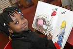 Temi at the World Book Day Workshop in The Library...Photo NEWSFILE/Jenny Matthews.(Photo credit should read Jenny Matthews/NEWSFILE)....This Picture has been sent you under the condtions enclosed by:.Newsfile Ltd..The Studio,.Millmount Abbey,.Drogheda,.Co Meath..Ireland..Tel: +353(0)41-9871240.Fax: +353(0)41-9871260.GSM: +353(0)86-2500958.email: pictures@newsfile.ie.www.newsfile.ie.FTP: 193.120.102.198.
