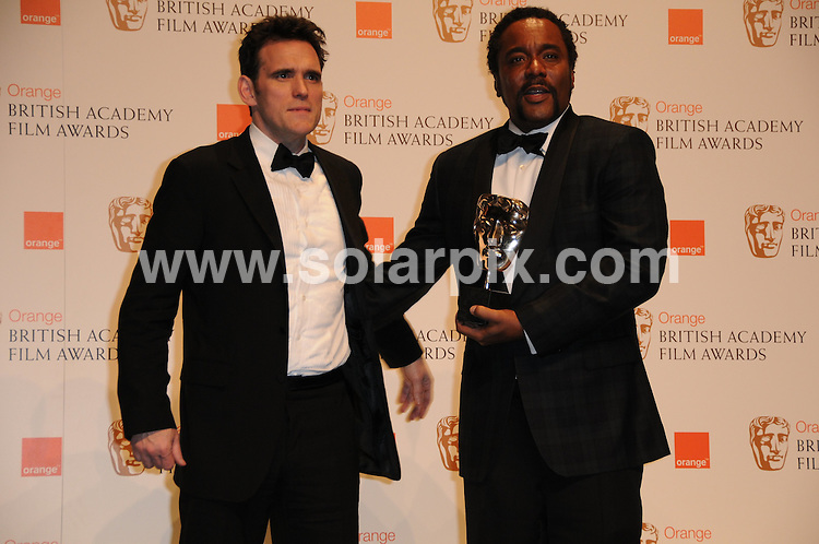 **ALL ROUND PICTURES FROM SOLARPIX.COM** **WORLDWIDE SYNDICATION RIGHTS** .The Orange British Academy Film Awards, BAFTAs 2010 at the Royal Opera House, London, UK ..This pic: Matt Dillon and Lee Daniels..JOB REF: 10754 MSR DATE: 21_02_2010 .**MUST CREDIT SOLARPIX.COM OR DOUBLE FEE WILL BE CHARGED** **MUST NOTIFY SOLARPIX OF ONLINE USAGE** **CALL US ON: +34 952 811 768 or LOW RATE FROM UK 0844 617 7637**