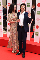 Sally Humphries and Ronnie Wood<br /> arriving for the Prince's Trust Awards 2020 at the London Palladium.<br /> <br /> ©Ash Knotek  D3562 11/03/2020