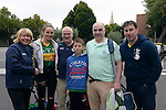 Ellen, Shelley and Dermot Clifford, Joe Cahillane, Michael Cahillane and Pa Murphy at the match.<br /> <br /> Kerry win the 2016 All-Ireland Minor Football Championship.<br /> Photo Don MacMonagle
