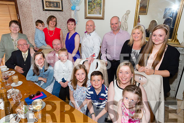 Cahill Garvey from Limerick celebrating his first communion on Saturday 16th Of May with friends and family in Bella Bia's