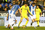CD Leganes' Gabriel Pires (l), Martin Mantovani (2l) and Alberto Martin (r) and Villarreal CF's Nicola Sansone during La Liga match. December 3,2016. (ALTERPHOTOS/Acero)