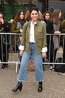 Pixie Geldof<br /> arrives for the Topshop Unique AW17 show as part of London Fashion Week AW17 at Tate Modern, London.<br /> <br /> <br /> &copy;Ash Knotek  D3232  19/02/2017