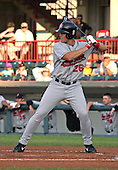 August 13, 2003:  Terry Tiffee of the New Britain Rock Cats, Class-AA affiliate of the Minnesota Twins, during a Eastern League game at Jerry Uht Park in Erie, PA.  Photo by:  Mike Janes/Four Seam Images