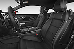 Front seat view of a 2017 Ford Mustang GT Premium 2 Door Coupe front seat car photos
