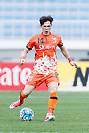 Jeju United Midfielder Lee Changmin in action during the AFC Champions League 2017 Round of 16 match between Jeju United FC (KOR) vs Urawa Red Diamonds (JPN) at the Jeju Sports Complex on 24 May 2017 in Jeju, South Korea. Photo by Yu Chun Christopher Wong / Power Sport Images
