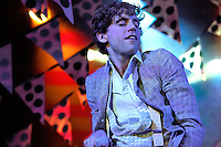 Mika performing at the Riviera Club in Madrid