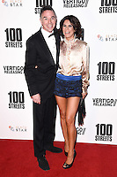 Charlie Creed Miles and Sachi Loggia<br /> at the &quot;100 Streets&quot; UK premiere, Bfi South Bank, London.<br /> <br /> <br /> &copy;Ash Knotek  D3195  08/11/2016