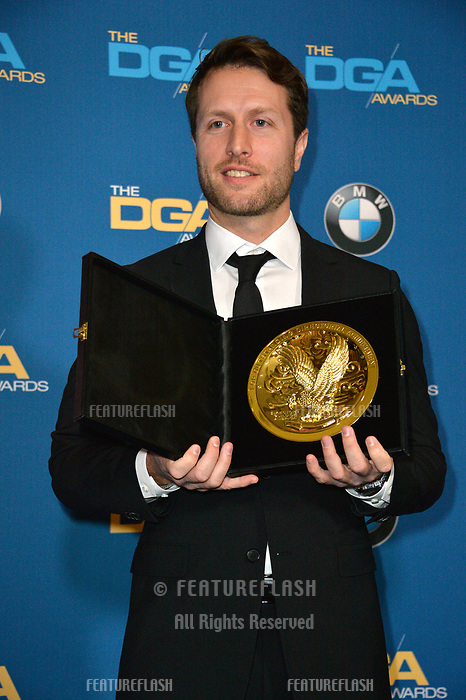 Matthew Heineman at the 70th Annual Directors Guild Awards at the Beverly Hilton Hotel, Beverly Hills, USA 03 Feb. 2018<br /> Picture: Paul Smith/Featureflash/SilverHub 0208 004 5359 sales@silverhubmedia.com
