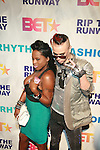 Roxy Brown and Designer Indashio attend BET'S RIP THE RUNWAY 2011 Hosted by MEHCAD BROOKS AND SELITA EBANKS AT THE HAMMERSTEIN BALLROOM, New York 2/26/11