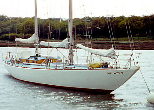 Crosshaven built, and looking well: Gipsy Moth