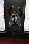 Alex Newell during his Broadway Debut Photo Shoot for 'Once On This Island' on January 30, 2018 at Circle in the Square Theatre in New York City.