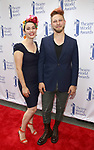 Benjamin Scheuer and wife attends the 73rd Annual Theatre World Awards at The Imperial Theatre on June 5, 2017 in New York City.