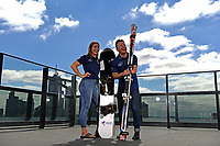 Joany Badenhorst / Para-snowboarder and Mitch Gourley / Para-Skier are named joint Team Captains for the 2018 Winter Paralympic Games in South Korea by APC CEO Lynne Anderson<br /> Shot on location at PWC Melbourne<br /> Monday October 23rd  2017<br /> &copy; Explorer-Media / Jeff Crow
