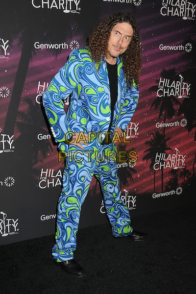 17 October 2014 - Hollywood, California - Weird Al Yankovic. 3rd Annual Hilarity For Charity Los Angeles Variety Show held at the Hollywood Palladium.  <br /> CAP/ADM/BP<br /> &copy;Byron Purvis/AdMedia/Capital Pictures