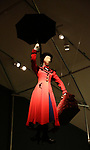 'Mary Poppins' Costume at Curtain Up: Celebrating the Last 40 Years of Theatre in New York and London Exhibition on June 14, 2017 at the New York Public Library for the Performing Arts at Lincoln Center.