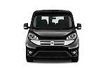 Car photography straight front view of a 2015 Ram Promaster City SLT 5 Door Mini Mpv Front View
