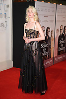 Freya Mavor<br /> arriving for the premiere of &quot;The Sense of an Ending&quot; at the Picturehouse Central, London.<br /> <br /> <br /> &copy;Ash Knotek  D3244  06/04/2017