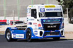 German driver Jochen  Hahn belonging German team Jochen Hahnduring the super pole SP1 of the XXX Spain GP Camion of the FIA European Truck Racing Championship 2016 in Madrid. October 01, 2016. (ALTERPHOTOS/Rodrigo Jimenez)