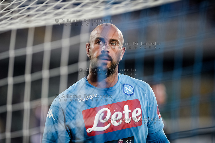Pepe Reina (Napoli) during the Italian Serie A football match Pescara vs SSC Napoli on August 21, 2016, in Pescara, Italy. Photo by Adamo Di Loreto