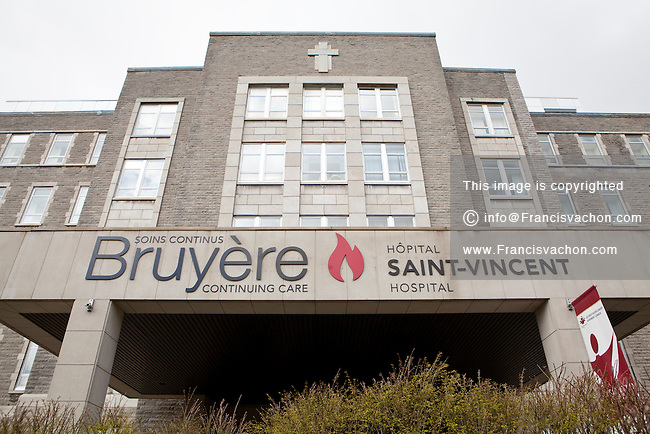Bruyere continuing care of the Hopital Saint-Vincent Hospital is picture in Ottawa Wednesday April 25, 2012.
