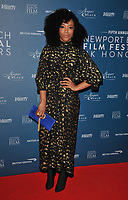 Naomi Ackie at the Newport Beach Film Festival UK Honours, The Langham Hotel, Portland Place, London, England, UK, on Thursday 07th February 2019.<br /> CAP/CAN<br /> &copy;CAN/Capital Pictures