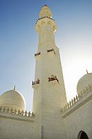 Abu Dhabi Mosque minaret