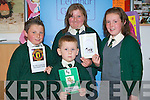 SCRIOBH LEABHAR: Students of Scoil Naomh Eoin Baiste, Lis Poil enjoying the Scriobh Leabhar awards at IT Tralee on Wednesday night l-r: Gareth O' Brosnachain, Eoghan Mac An tSithigh, Emily Ni Bhrosnachain and Eimear Ni Dhubhain..   Copyright Kerry's Eye 2008
