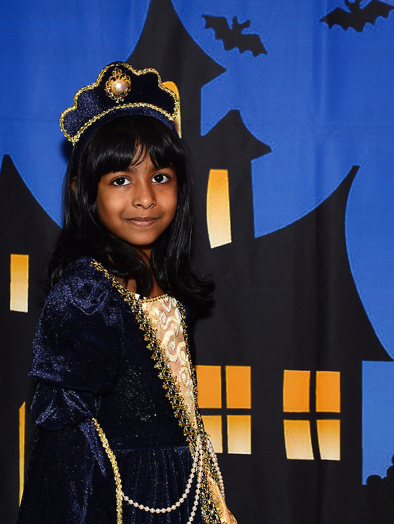 Keyasha Uragoda enjoying the Halloween fun in Scotch Hall. Photo:Colin Bell/pressphotos.ie