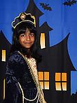 Keyasha Uragoda enjoying the Halloween fun in Scotch Hall. Photo:Colin Bell/pressphotos.ie
