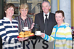 COFFEE: Announcing details of the forthcoming coffee morning on April 24th in the Imperial Hotel in aid of Chernobyl.children's Fund were l-r: Siobhan Clear, Mary Higgins, Joe McCarthy (GM) Catherine O'Connor.
