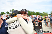IMSA WeatherTech SportsCar Championship<br /> Chevrolet Sports Car Classic<br /> Detroit Belle Isle Grand Prix, Detroit, MI USA<br /> Saturday 3 June 2017<br /> 93, Acura, Acura NSX, GTD, Andy Lally, Katherine Legge<br /> World Copyright: Richard Dole<br /> LAT Images<br /> ref: Digital Image RD2_1933