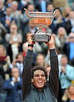 Victoire Rafael NADAL - 11.06.2012 - Finale - Roland Garros 2012.