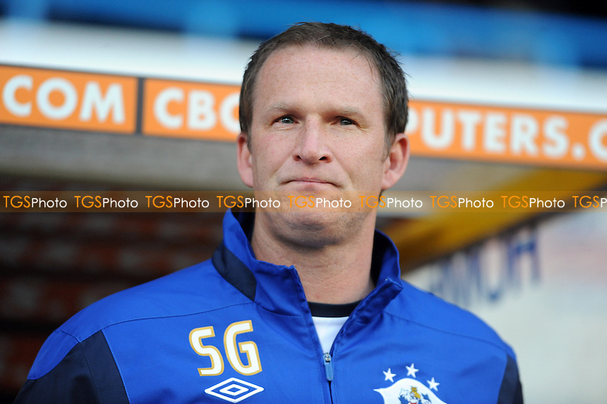Huddersfield Town manager Simon Grayson - Huddersfield Town vs MK Dons - nPower League One Play-Off Semi-Final Second Leg at the Galpharm Stadium - 15/05/12 - MANDATORY CREDIT: Anne-Marie Sanderson/TGSPHOTO - Self billing applies where appropriate - 0845 094 6026 - contact@tgsphoto.co.uk - NO UNPAID USE.