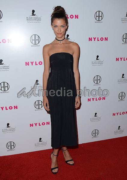 09 February  - Hollywood, Ca - Anna Christina Schwartz. Arrivals for the NYLON Magazine Pre-Grammy Party held at No Vacancy. Photo Credit: Birdie Thompson/AdMedia